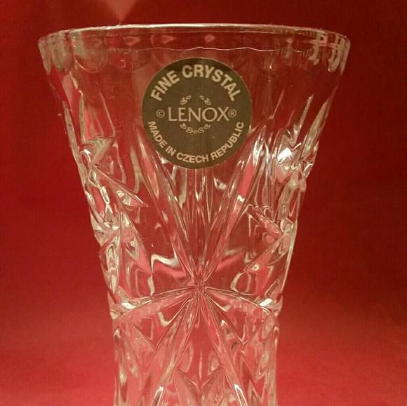 Lenox Other New Small Crystal Vase Poshmark